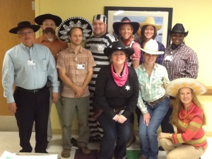 0818 – Children's Hospital General Pediatrics Department took on the Western theme this Halloween.
