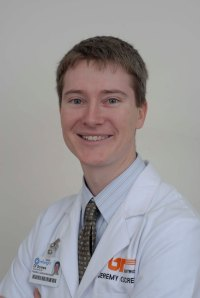 Jeremy Screws, M.D., a pediatric gastroenterologist at Children's Hospital at Erlanger
