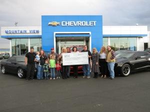 Camaro Club Donation